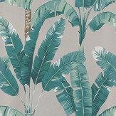 Osborne & Little Palmaria Jade / Gilver Wallpaper - Product code: W7210-01