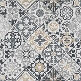 Osborne & Little Cervo Black / White Wallpaper - Product code: W7211-01