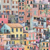 Osborne & Little Portovenere Multi-coloured Wallpaper