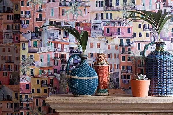 Osborne & Little Portovenere Multi-coloured Wallpaper - Product code: W7213-01