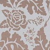 Osborne & Little British Isles Damask Mushroom Wallpaper