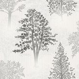 Arthouse Diamond Tree Mono Wallpaper
