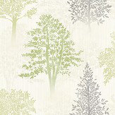 Arthouse Diamond Tree Green Wallpaper