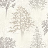 Arthouse Diamond Tree Natural Wallpaper