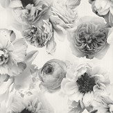 Arthouse Diamond Bloom Floral Mono Wallpaper