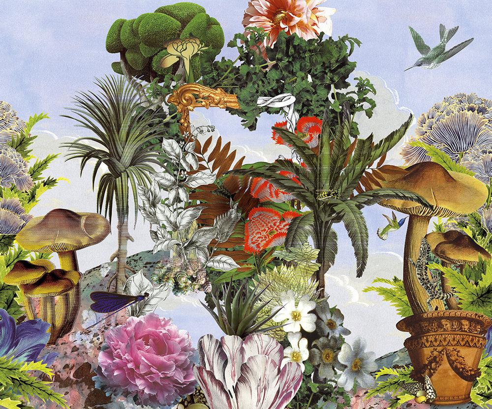 Designers Guild Jardin De Reves Panoramic Multi Mural - Product code: PCL7022/01