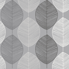 Arthouse Scandi Leaf Mono Wallpaper - Product code: 698400