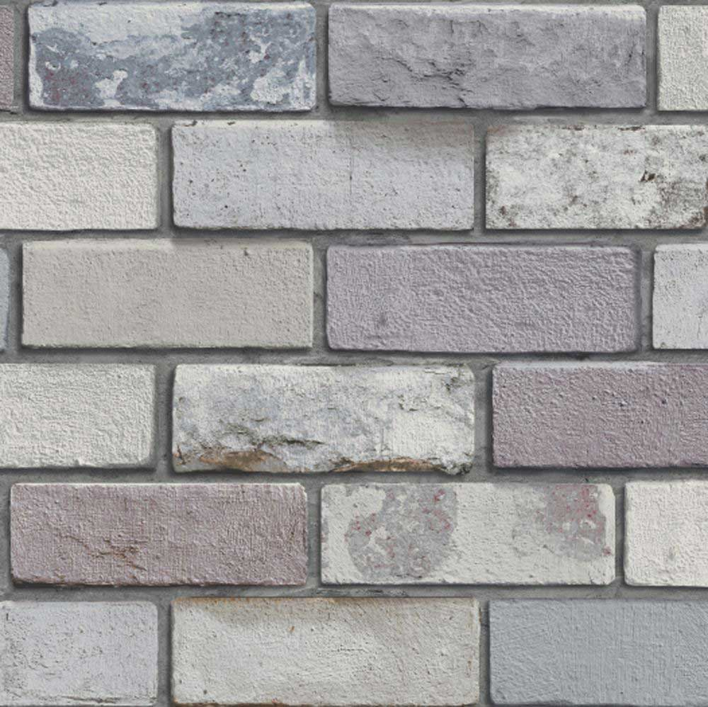 Urban Brick Wallpaper - Grey - by Arthouse