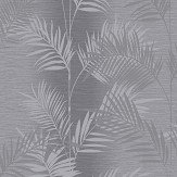Arthouse Diamond Palm Charcoal  Wallpaper