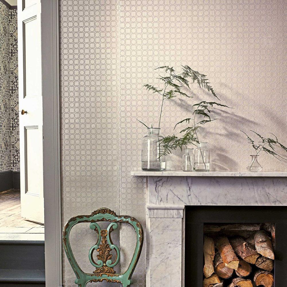 Toto Wallpaper - Cream - by Osborne & Little