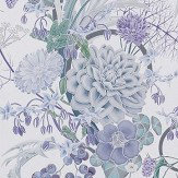 Osborne & Little Carlotta Lilac Wallpaper