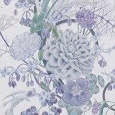 Osborne & Little Carlotta Lilac Wallpaper - Product code: W7215-01