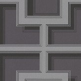 Osborne & Little Camporosso Charcoal Grey Wallpaper - Product code: W7216-03