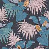 Osborne & Little Vernazza Dark Blue Wallpaper