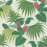 Osborne & Little Vernazza Green / Pink Wallpaper