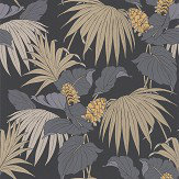 Osborne & Little Vernazza Grey / Gold Wallpaper