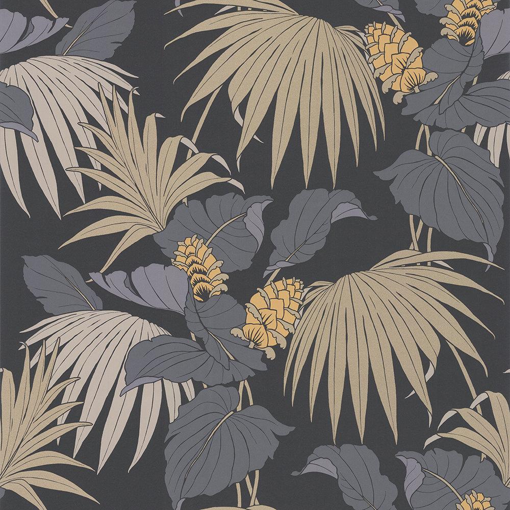 Vernazza By Osborne Little Grey Gold Wallpaper Direct