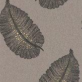 Osborne & Little Paraggi Brown Wallpaper - Product code: W7218-03
