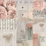 Arthouse Diamond Rose Blush Wallpaper