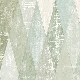 The Paper Partnership Fontwell Aqua Wallpaper