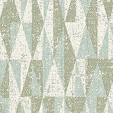 The Paper Partnership Bosham Aqua Wallpaper