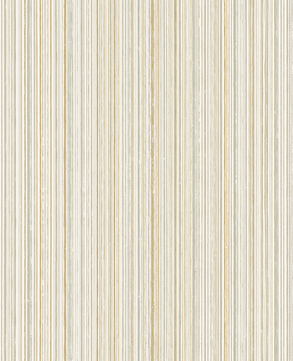 The Paper Partnership Milne Stripe Soft Cream Wallpaper - Product code: WP0130903