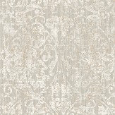 The Paper Partnership Hurst Damask Oyster Wallpaper