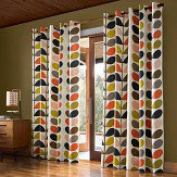 Orla Kiely Orla Kiely Multi Stem eyelet curtains Ready Made Curtains