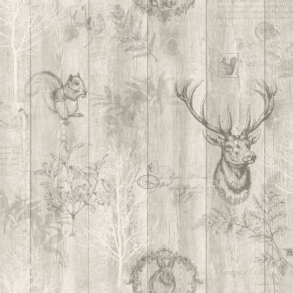 Albany Chatsworth Beige Wallpaper - Product code: 90251