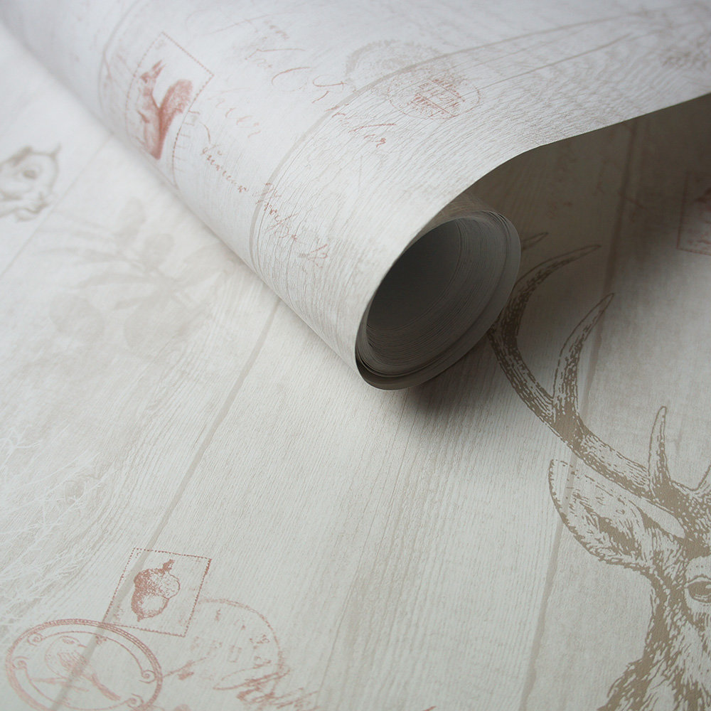 Albany Chatsworth Cream Wallpaper extra image