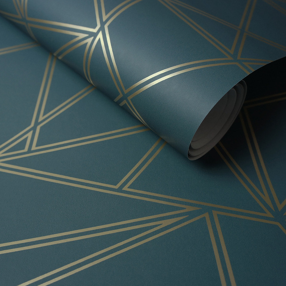Albany Omega Teal Wallpaper - Product code: 90270