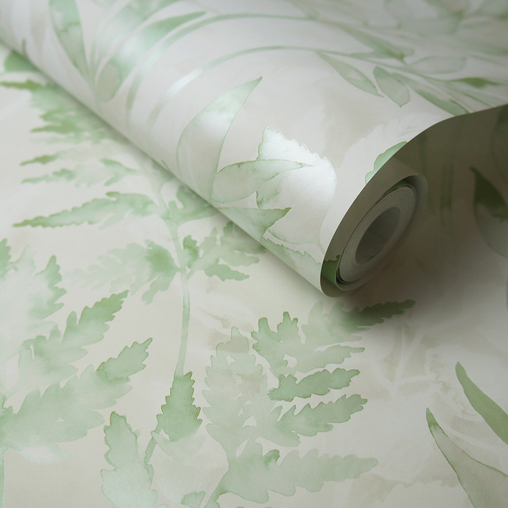 Albany Cedar Green Wallpaper - Product code: 90291