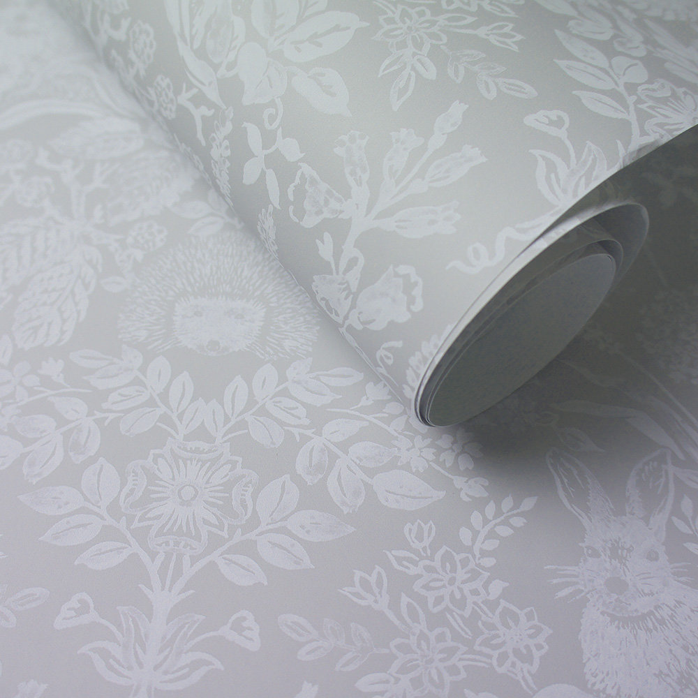Albany Bexley Grey Wallpaper - Product code: 90320