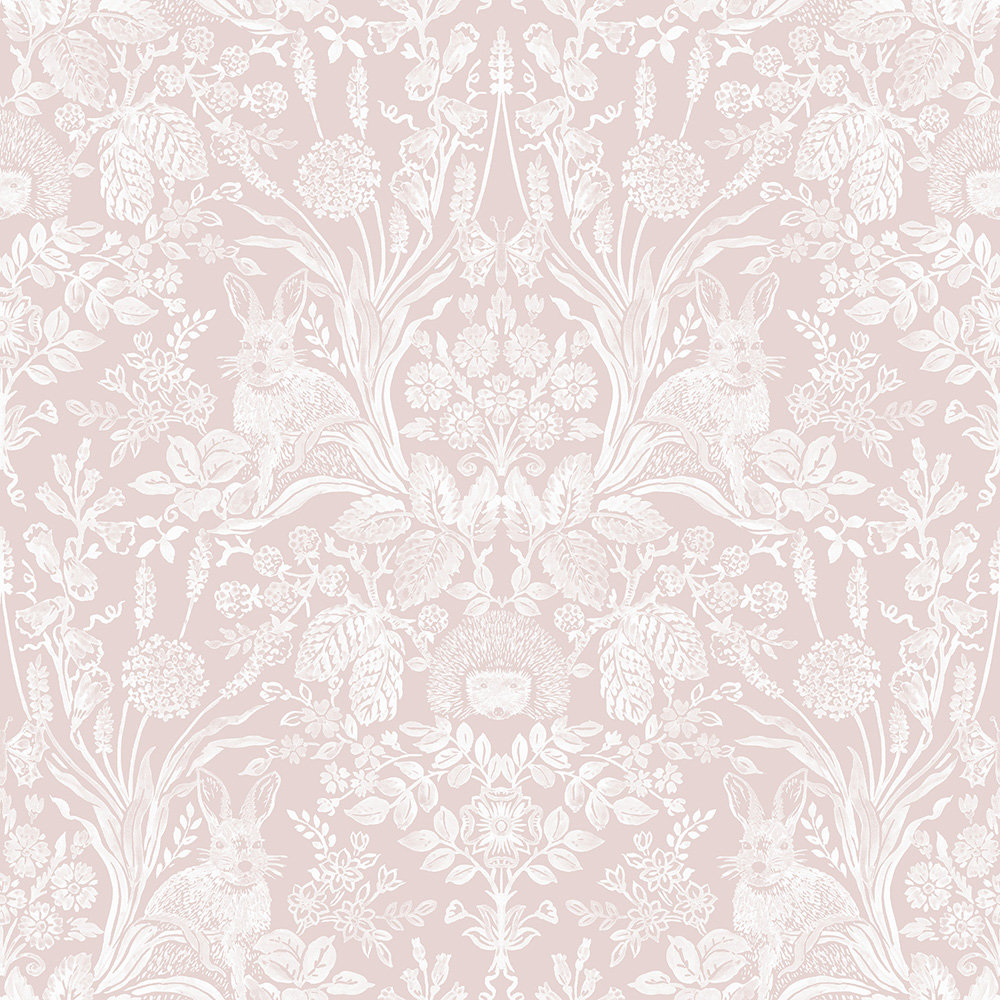 Albany Bexley Pink Wallpaper - Product code: 90321