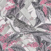 Albany Brassica Pink and Grey Wallpaper - Product code: 90332