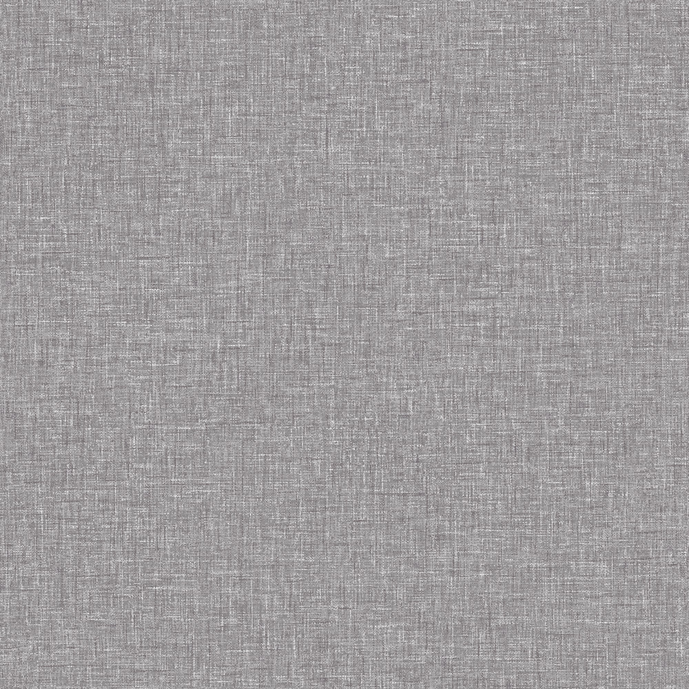 Linen Texture by Arthouse Mid Grey Wallpaper