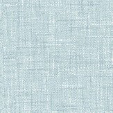 Arthouse Linen Texture Soft Blue Wallpaper
