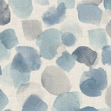 Arthouse Painted Dots Blue Wallpaper