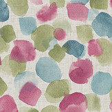 Arthouse Painted Dots Raspberry Wallpaper