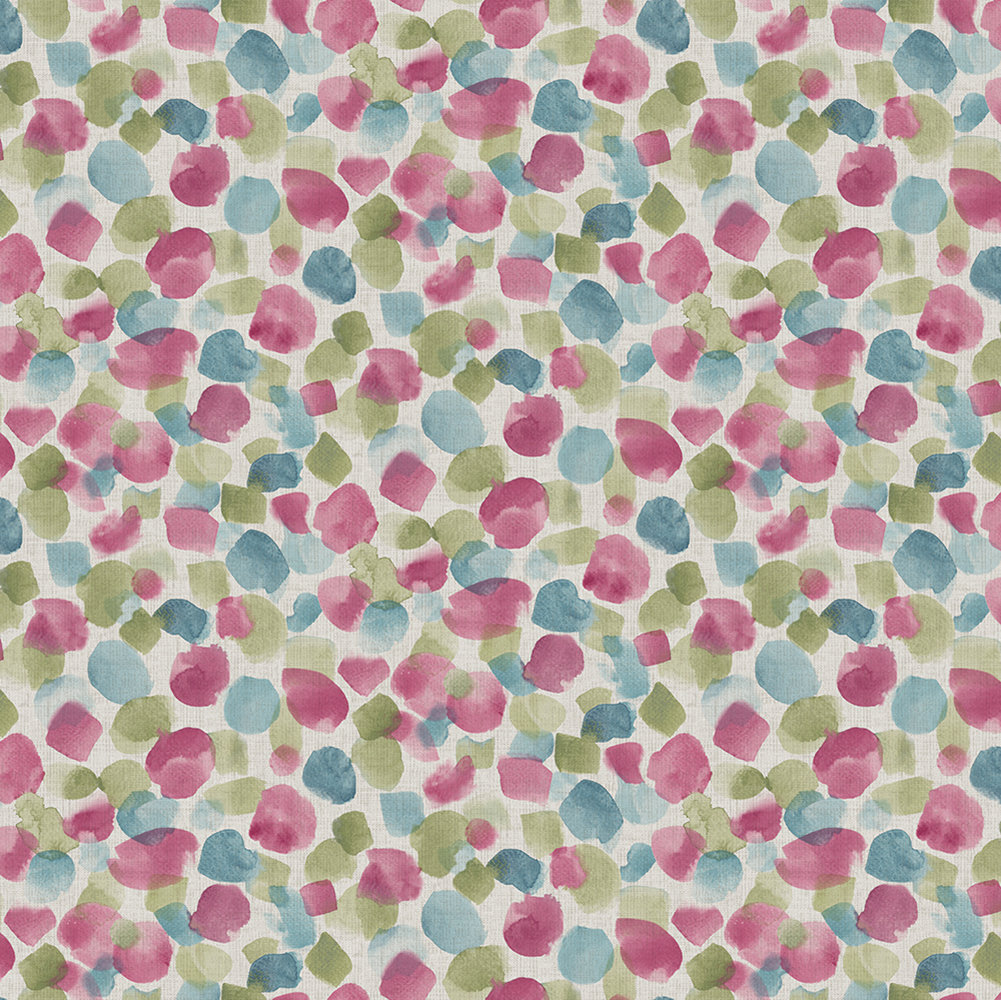 Arthouse Painted Dots Raspberry Wallpaper - Product code: 676201