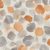 Arthouse Painted Dot Orange Wallpaper