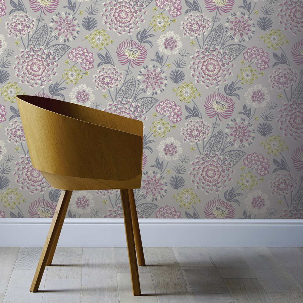 Arthouse Vintage Bloom Raspberry Wallpaper - Product code: 676207