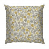 Arthouse Bloom Cushion Mustard Yellow & Grey