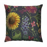 Arthouse Summer Garden Cushion Charcoal