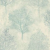 Arthouse Silva Woods Cream / Teal Wallpaper - Product code: 698102