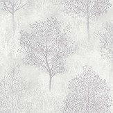 Arthouse Silva Woods Grey / Mauve Wallpaper - Product code: 698103