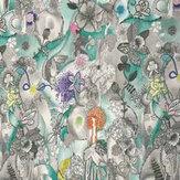 Missoni Home Dreamland Panel Aqua Mural