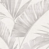 Arthouse Banana Palm Chalk Grey Wallpaper