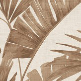Arthouse Banana Palm Coffee Wallpaper