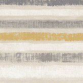 Arthouse Painted Stripe Ochre Wallpaper
